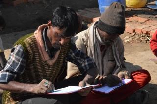 Brick workers in Nepal